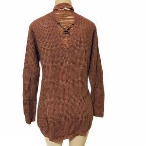 🌺5/$20🌺 Moral Fiber distressed crochet cardigan